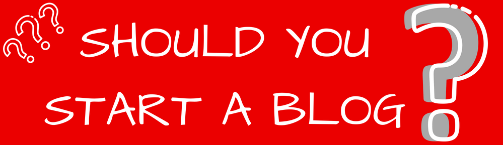 Should you start a blog or website