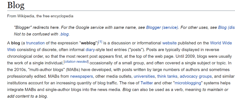 how to drive traffic from wikipedia