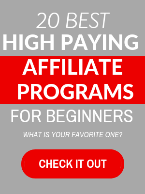 best high paying affiliate programs list