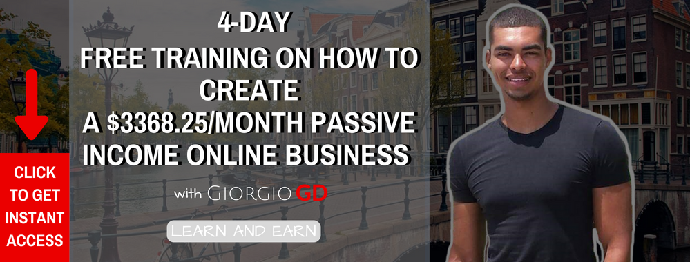 Online Passive income course