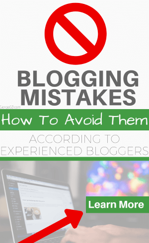 Blogging mistakes how to avoid them according to experienced bloggers