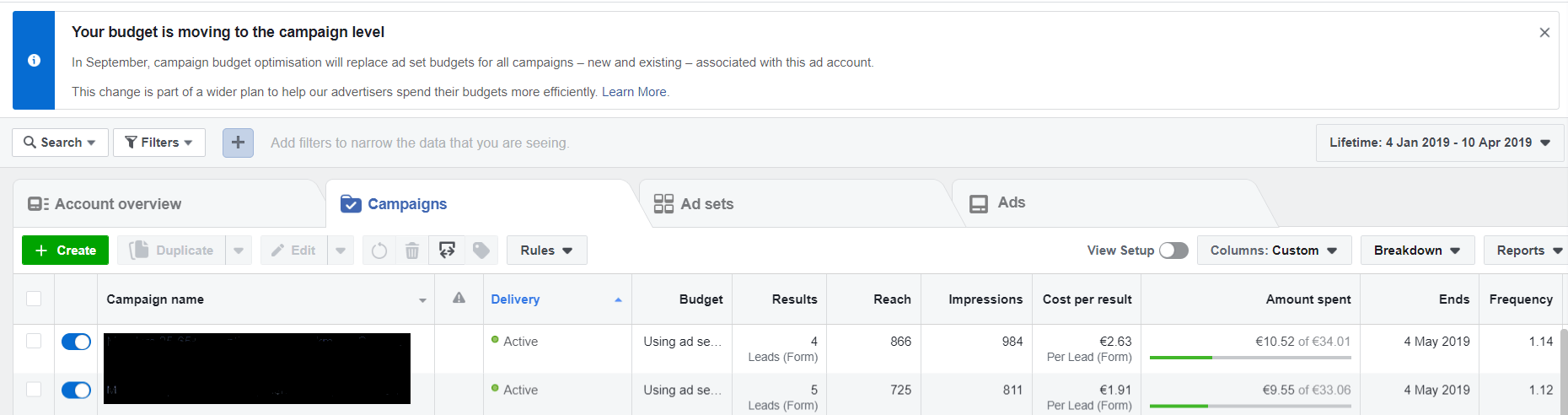 fb ads splittesting case study dentist dental social media marketing